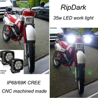 Auto parts made in china dirt cheap motorcycles wholesale LED work light