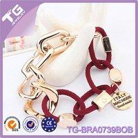 CCB Crown Italy Handmade wrap football charms bracelets