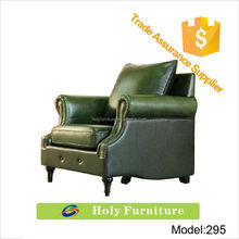 295# new china product for sale low back green cow leather new model sectional sofa cushion turkish furniture