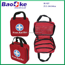 Elite First Aid Fully Stocked Essential Medical Kit Bag / First Aid Premium Kit for Car , Home, Office and Earthquake
