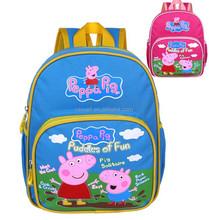 Preppa pig schoolbag / kids animal backpack China supplier