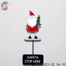 christmas yard stick red cloth Santa Clause
