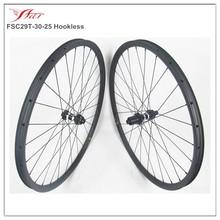full carbon 29er wheels mountain wheelset, carbon fiber mtb bike wheels 29er 12 x 142 thru axle with DT 350S disc hub CL