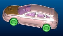 Custom 1 43 modèle modèle de voiture, Produit industriel entreprise de conception, 2d à la 3d, Catia