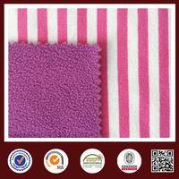 Feimei stripe fabric purple white stripe knit fabric