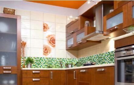 Ev banyo mutfak duvar dekor 3d Çıkartmalar duvar kağıdı kiremit ...