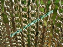 fantastic twist shape aluminum chain link curtain