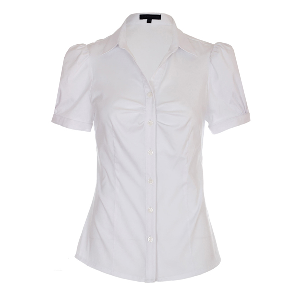 23 amazing womens white blouse short sleeve for White shirt for ladies
