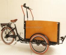 Dutch style Aluminium alloy frame family cargo used three wheel large cargo motorcycles