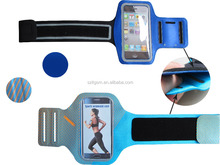 0.8mm/29g TPU+lycra Adjustable Cycling Gym sports armband case for Samsung note 4