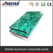 Hign quality standard aluminum sheet thickness plastic exterior wall cladding