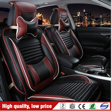 2016 Newest Four Seasons PU Full Set Seat Cover Y1007