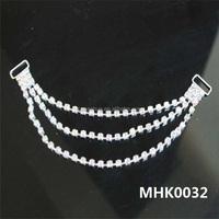 Sexy rhinestone chain for underwear metal accessories MHK0032