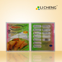eco friendly product special plastic bags food delivery cooler bag