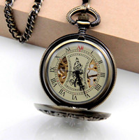 leaveroll mechanical pocket watch flower face Factory direct sale!