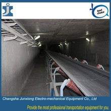 Materials transport belt conveyor long distance use roller electr conveyor