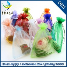 Wholesale High Quality Jewelry Organza Gift Bag,Drawstring Shoes Bag,Candy Packing Bag