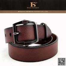 Genuine cowhide famous 100% low price mens leather belts 2015 designer