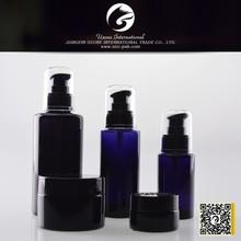 50g dark violet glass jars for herbs