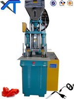 80T Hot Sale Plastic Vertical Injection Machine for Insert Plug Charger Connector