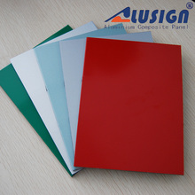Alusign brushed finish aluminum composite panel(acp) for plastic interior wall decorative panel lowes