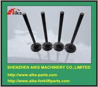 EP100 Intake valve 13711-1431 13711-1530A 13711-1541A EP100 Exhaust valve 13715-1260 13715-1580A EP100 Excavator engine spare