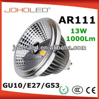 30 degree double led light epistar gu10 cob spotlight 13 watt 15 watt ar111 led light bulb lamp