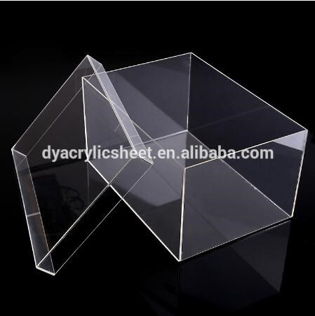 pais bo te en acrylique transparent avec couvercle magn tique bo te en plexiglas acrylique. Black Bedroom Furniture Sets. Home Design Ideas