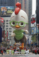 gaint Inflatable Chicken Little parade balloon /advertising equipment