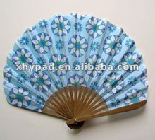 bamboo & cutton lady fan