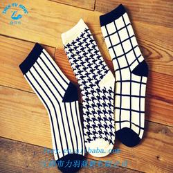 Children OEM Striped And Argyle Fancy Socks