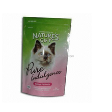 Alibaba China custom logo pet food bag pckaging resealable stand up pouch