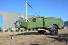 heavy duty off road rear folding off road camper trailer for sale