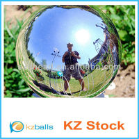 Large Size Colored Stainless Steel Gazing Ball