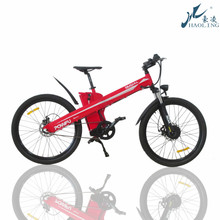 """Seagull red,26""""36/48V electric mountain bicycle 1000w s-125"""