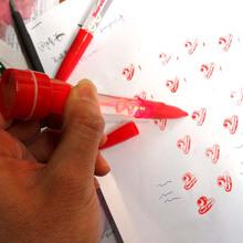 promotion cheap ballpoint stamp light bubbles pen
