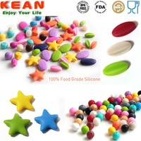Raw Materials for Jewellery/ Food Grade Silicone Beads