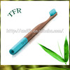 Private label biodegradable bamboo wood toothbrushes oral
