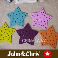 Star Heat Resistant Food Grade Silicone Coaster