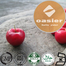 Foold Natural Plant Extract ISO Kosher Certificate Pure Natural 5% to 25% VC Acerola Cherry Extract Powder