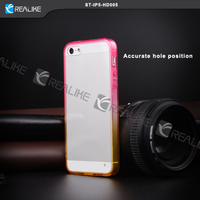 Tramsparent tpu protective ultra slim mobile phone case for iphone 5s