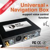 UNIVERSAL CAR DVD PLAYER WITH GPS Navigator GPS NAVIGATION + map Rus