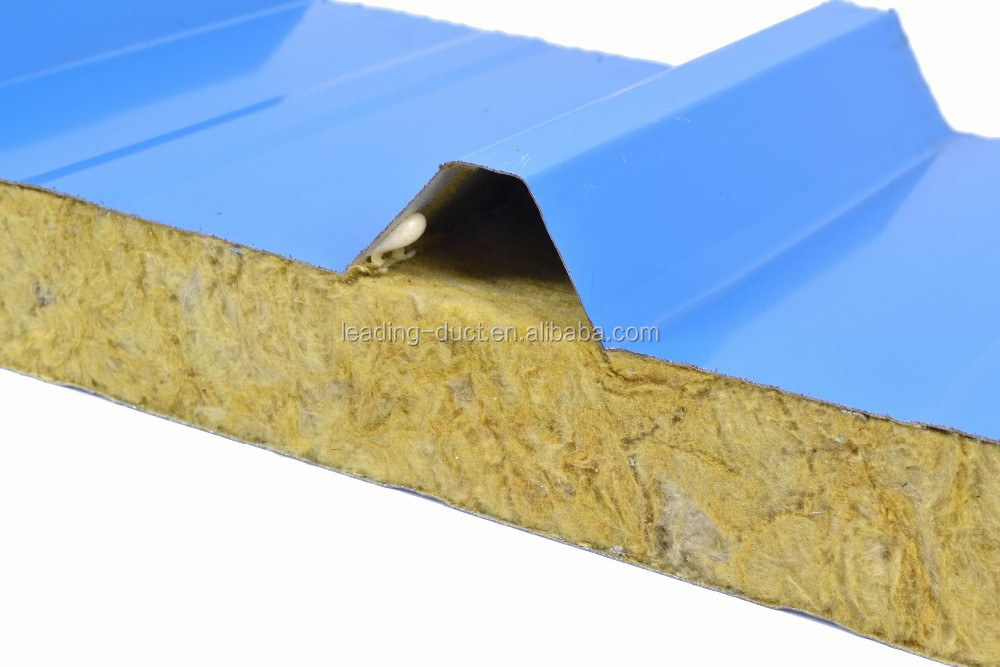 Rock wool sandwich panel for wall insulation buy rock for Rock wall insulation