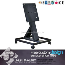 Modern samsung tv stand metal furniture plasma tv stand with wheel OK-4056