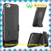 2 in 1 hybrid combo mobile phone case for iphone with stand