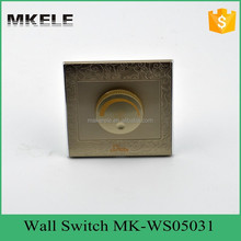220v household high quality CE certificate wholesale factory direct fan adjust Speed Rotary wall Switch made in China