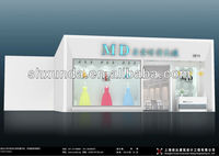 Fashionable wedding dress booth used for exhibition & trade show