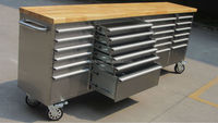 96 inch stainless steel rolling used steel storage cabinets