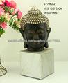 decoración de la cabeza de Buda