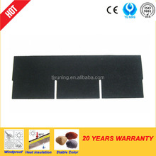 3-tab asphalt shingle roof